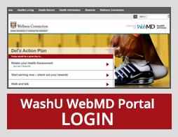 WashU WebMD Portal LOGIN