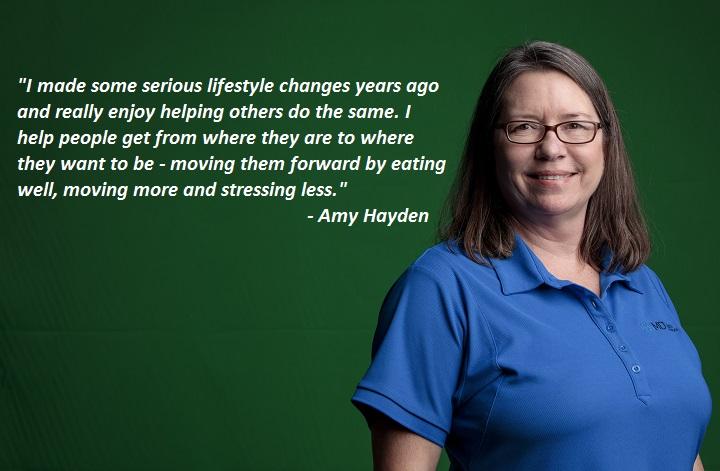 Health Coach Amy Hayden