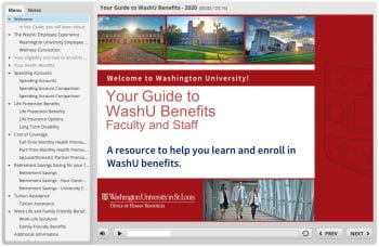 Your Guide to WashU Benefits