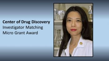 Maggie Receives Center for Drug Discovery Investigator Matching Grant