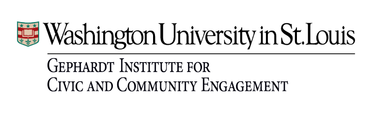 Gephardt Institute for Civic and Community Engagement Logo