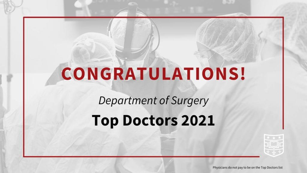 Top Doctors 2021