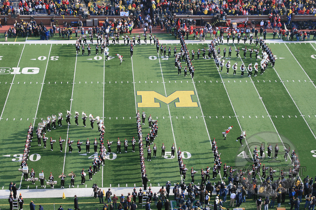 Michigan - Double Script in the Big House