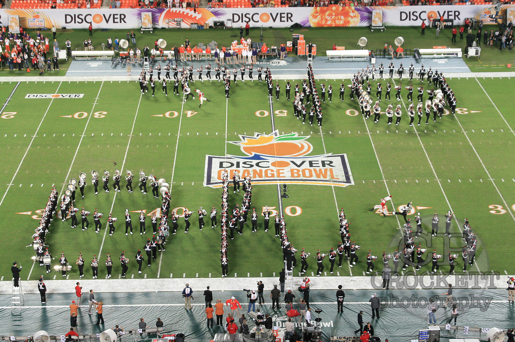 Orange Bowl - Double Script