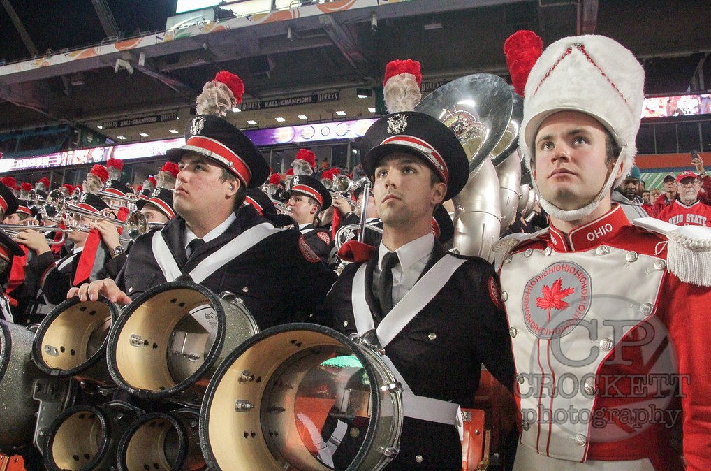 Orange Bowl - Carmen Ohio with Jordan Kuhn, Austin Willman, and David Petite