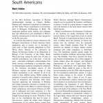 Paper titled Walter Neves and the Pursuit of the First South Americans.