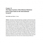 Paper titled The Repercussions of the Human Skeletons from Lagoa Santa in the International Scenario [English translation from Hubbe and Neves, 2016].