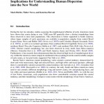 Paper titled Cranial morphology of early South Americans: Implications for understanding human dispersion into the New World.