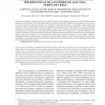 Paper titled Niveles de cortisol en cabellos de poblaciones prehispánicas de San Pedro de Atacama, Norte de Chile.