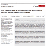 Paper titled Brief communication: a re-evaluation of the health index of southern Brazilian shellmound populations.