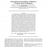 Paper titled Intraskeletal Variability of Relative Cortical Area in Humans.
