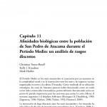 Paper titled Afinidades biológicas entre la población de San Pedro de Atacama durante el Período Medio: Un análisis de rasgos discretos.