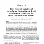 Chapter 23 of Early Human Occupation of Lagoa Santa, Eastern Central Brazil: Craniometric Variation of the initial Settlers of South America