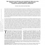 Paper titled The sequence of human occupation in the Atacama Oases, Chile: A radiocarbon chronology based on human skeletal remains.