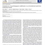 """Paper titled Comments on: """"An anthropogenic modification in an Eremotherium tooth from northeastern Brazil""""."""