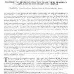 Paper titled Postmarital residence practices in southern Brazilian coastal groups: Continuity and change.