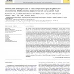 Paper titled Identification and importance of critical depositional gaps in pitfall cave environments: the fossiliferous deposit of Cuvieri Cave, eastern Brazil.