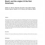 Paper titled Early Holocene human skeletal remains from Cerca Grande, Lagoa Santa, Central Brazil, and the origins of the first Americans.