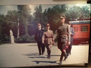 France surrenders in Treaty of Versailles train car
