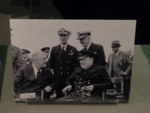 Churchill and Roosevelt