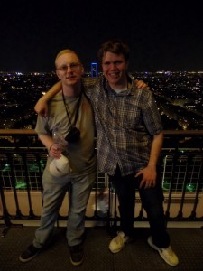 Me and Rami on Eiffel Tower