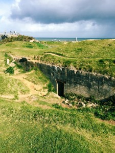 A German bunker that survived D-Day at Pointe du Hoc