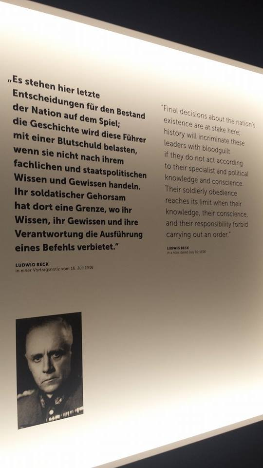 """This quote discussed the interesting German concept of """"blood shame"""", which has historical roots in German culture and frames of mind when it comes to reputation and personal regard as well as in an epic stance. It was also wonderful that it was translated and clearly displayed so that American visitors could get more out of the visit to the museum"""