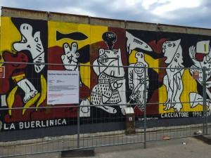 "Picasso's ""Guernica"" (devastating fire-bombing of the town during the Spanish Civil War) reimagined in terms of Berlin"