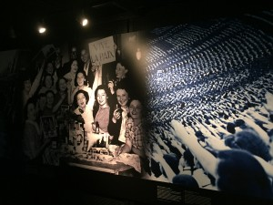 A photo also displayed at the Caen Memorial Museum. This photo depicts that the French people were lively and happy, and then suddenly surrounded by the Nazi forces out of the blue.