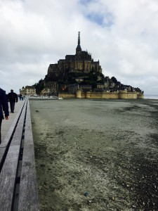 My site report location: Mont St. Michel