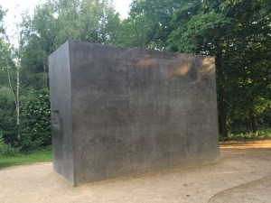 The Memorial to the Homosexuals Persecuted Under Nazism, tucked away in a corner of the Tiergarten. This memorial, dedicated in 2008, is the third of only 3 memorials in all of Germany dedicated to the gay victims of the Holocaust.