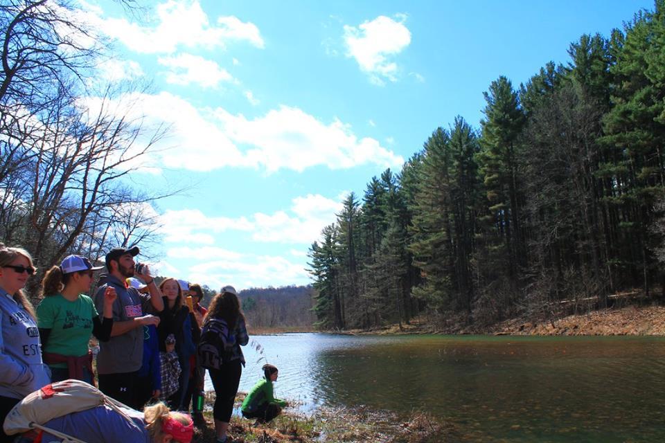 lake hope camping trip