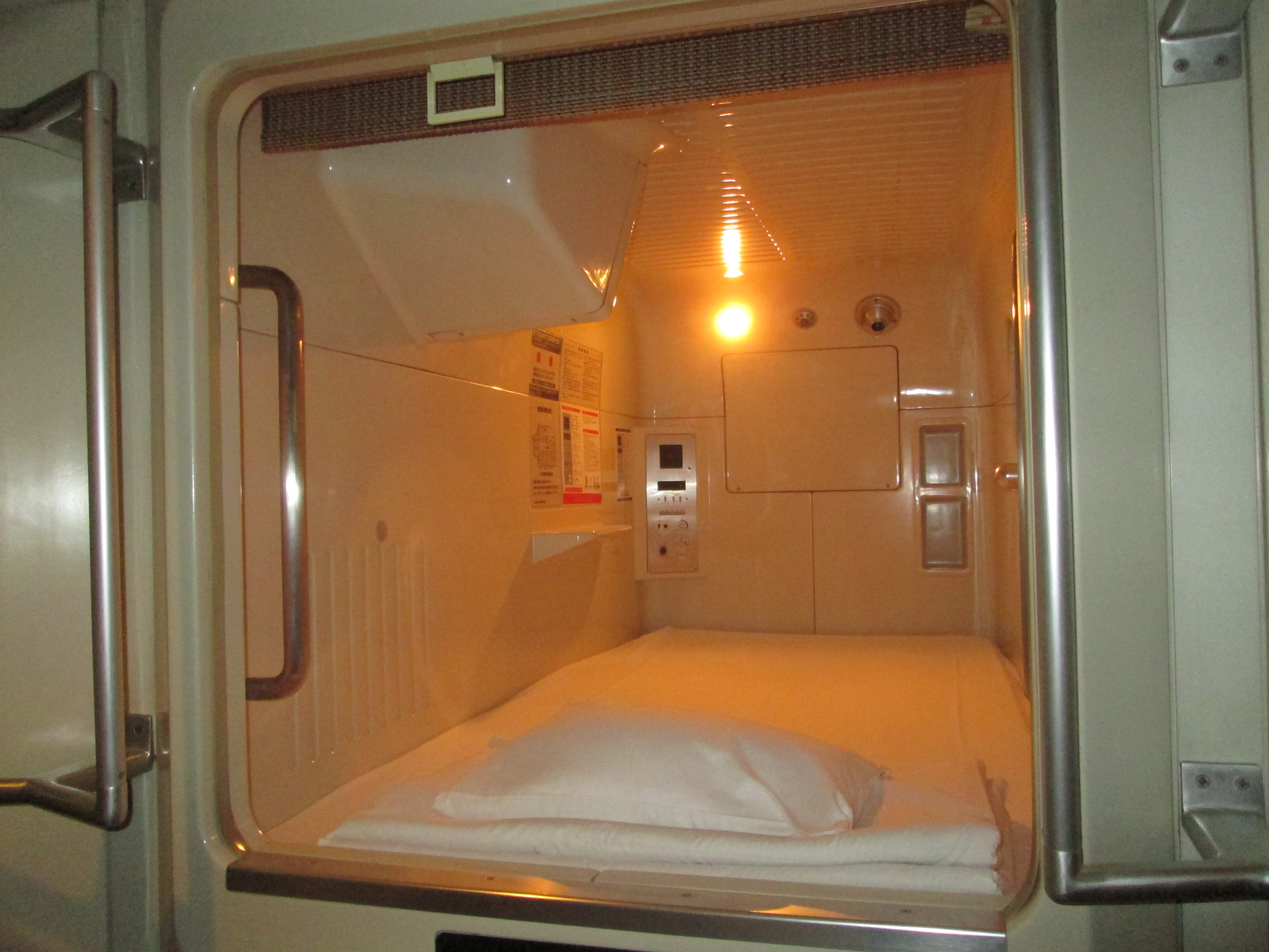What Is It Like To Sleep In A Coffin Capsule Hotel For A Night