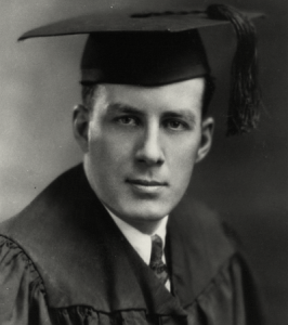 Graduating college at St. Paul's in '31