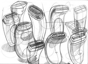 tone sketches relating to one of our sketch projects
