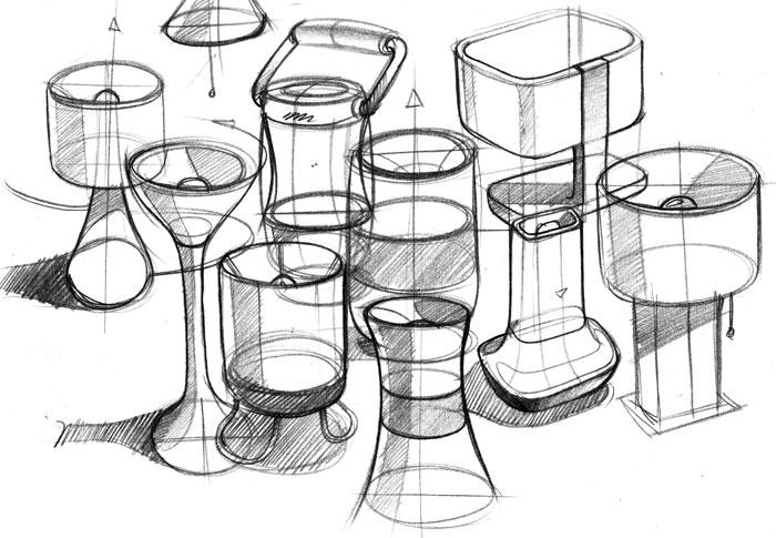 Product Design Line Art : August design