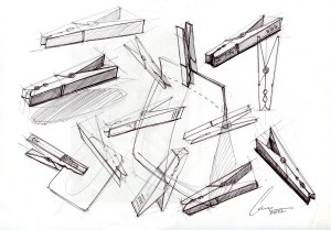 An interesting development of sketching a very basic object