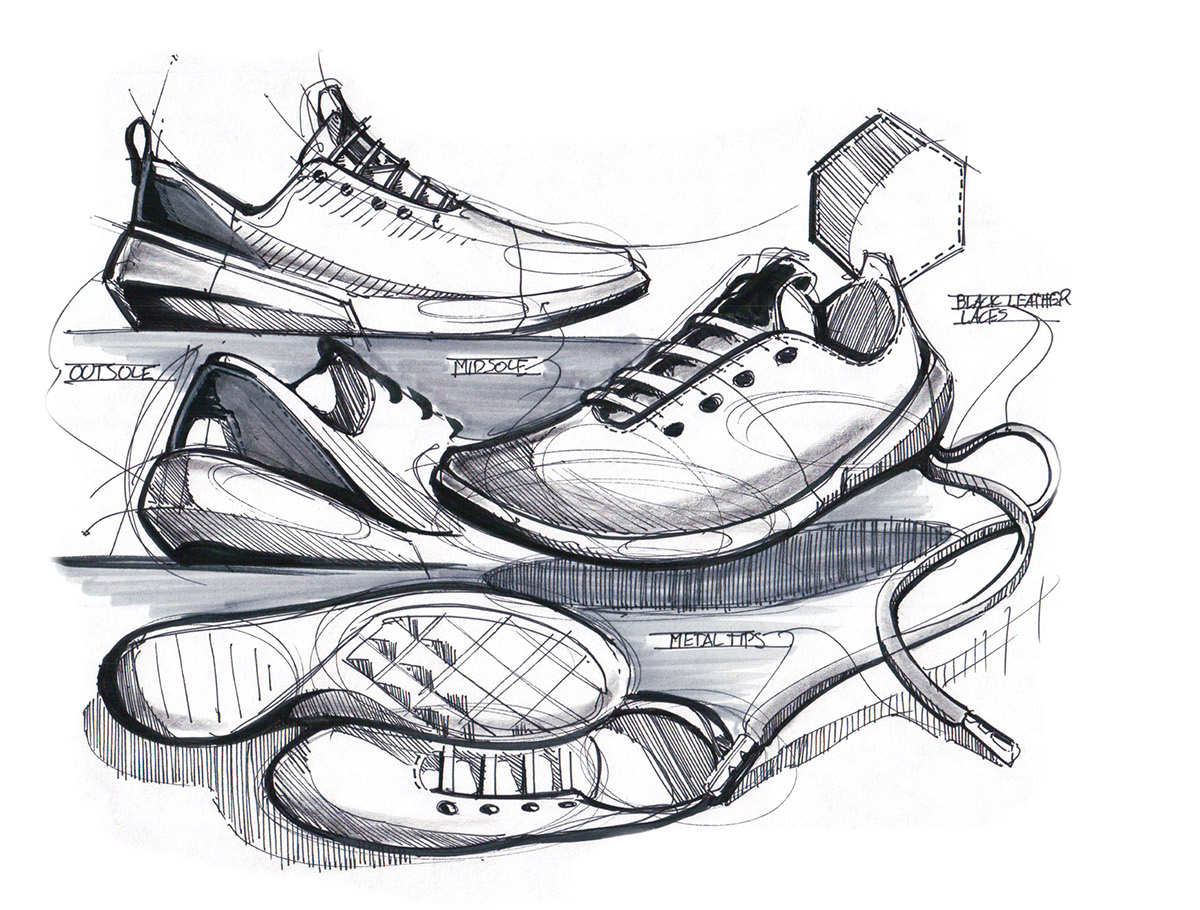 shoe sketches � austin scott osu design 3301
