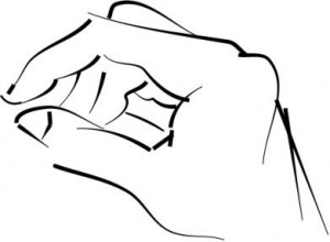 gestural hand drawing using sweeping line (Cintiq)