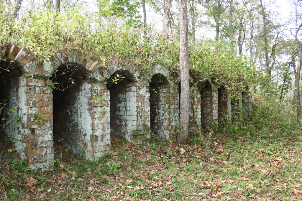 Belgium Coke Ovens near the Vinton Furnace