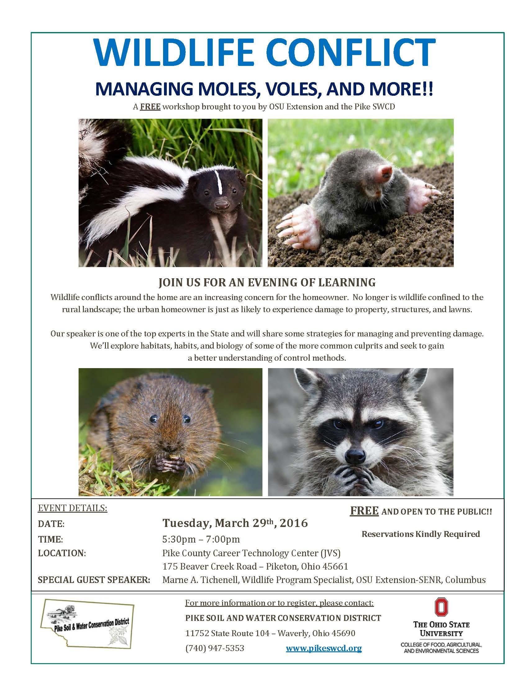 2016 Pike County Nuisance Wildlife Program
