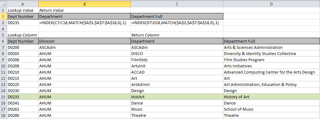 Copying Index Match to other columns