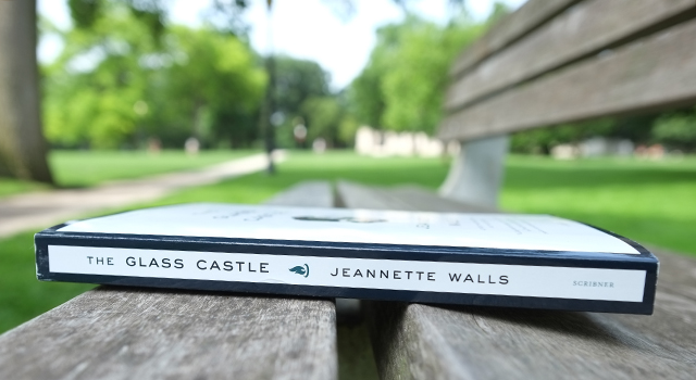 The Glass Castle on Oval bench