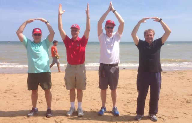 O-H-I-Omaha Beach