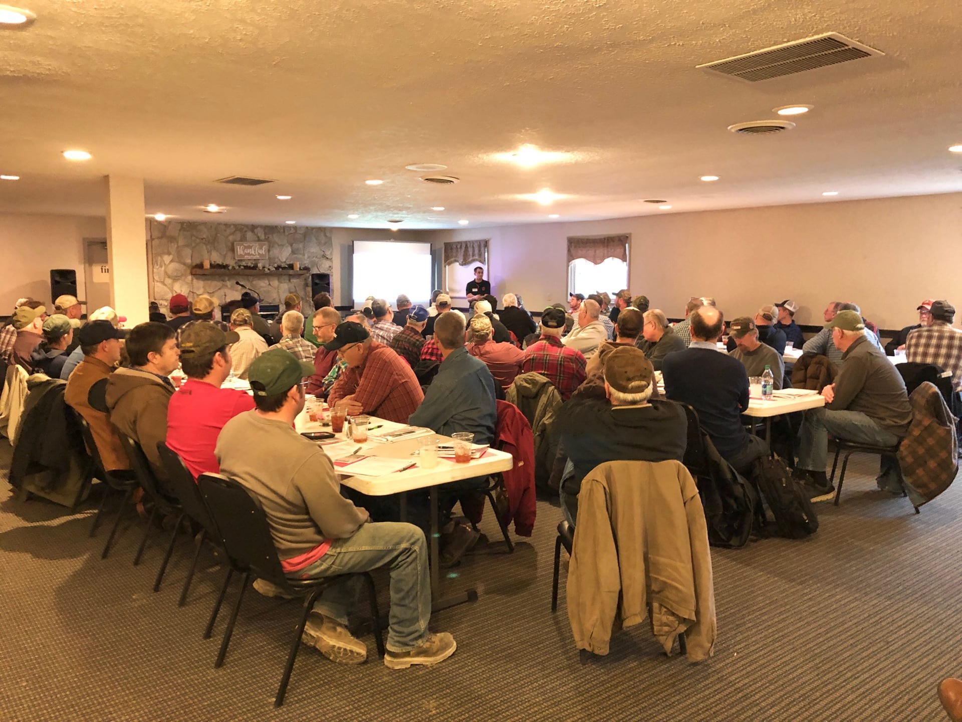 Attendees of the first fertilizer and pesticide recertification held in Highland County on February 19, 2019.