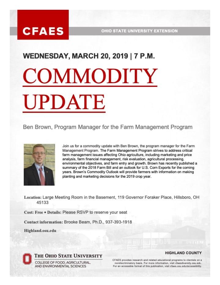 Commodity Update