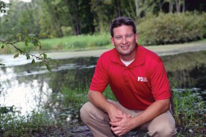 Adam Sharp's boots are firmly on the ground when it comes to farming and protecting water: He is also a farmer in Fairfield County.