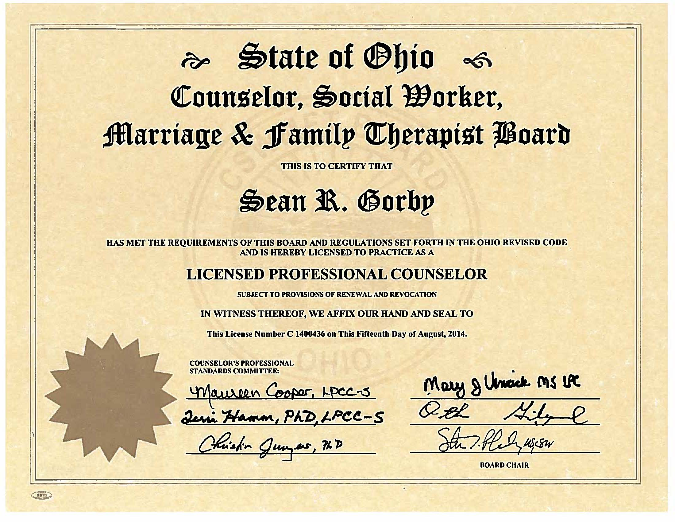 how to get mental health counselor license
