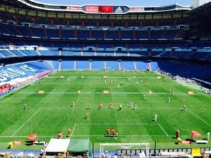 El Estadio Santiago Bernabeu