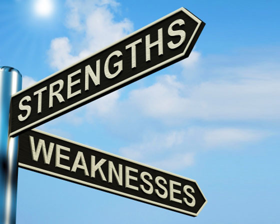 Professional Strengths and Weaknesses Reflection Loomees